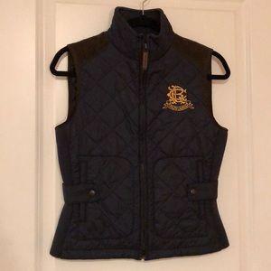 Ralph Lauren Sport navy vest